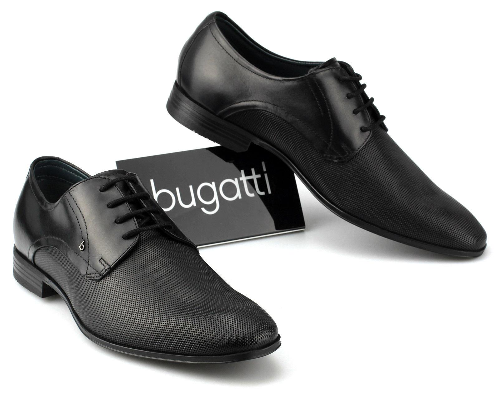 Schnürer Schwarz 48 Zu Bugatti Business Herren 47 Leder Halbschuhe rdxoBWCeQ