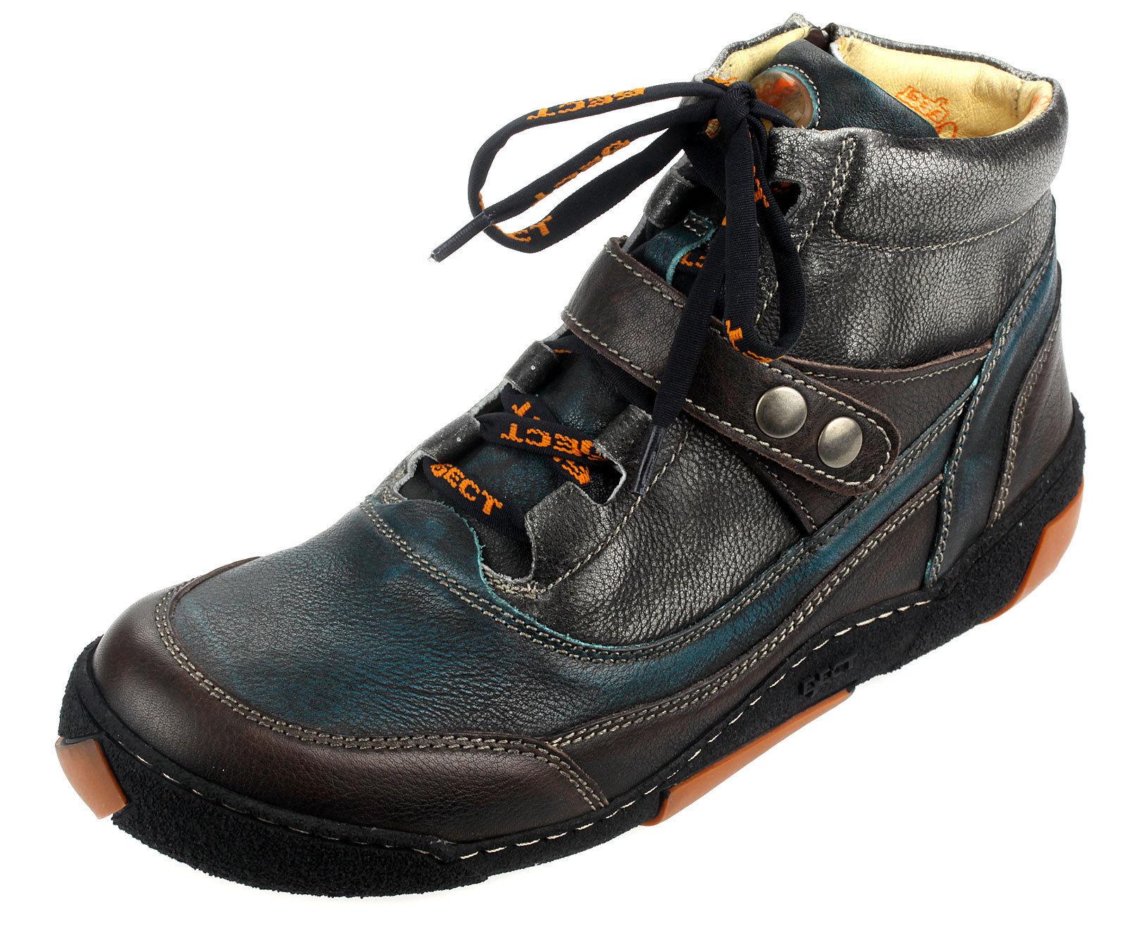 Eject Herrenstiefel Echtleder Boots Freizeit Männer Comfort Schuhe 19122