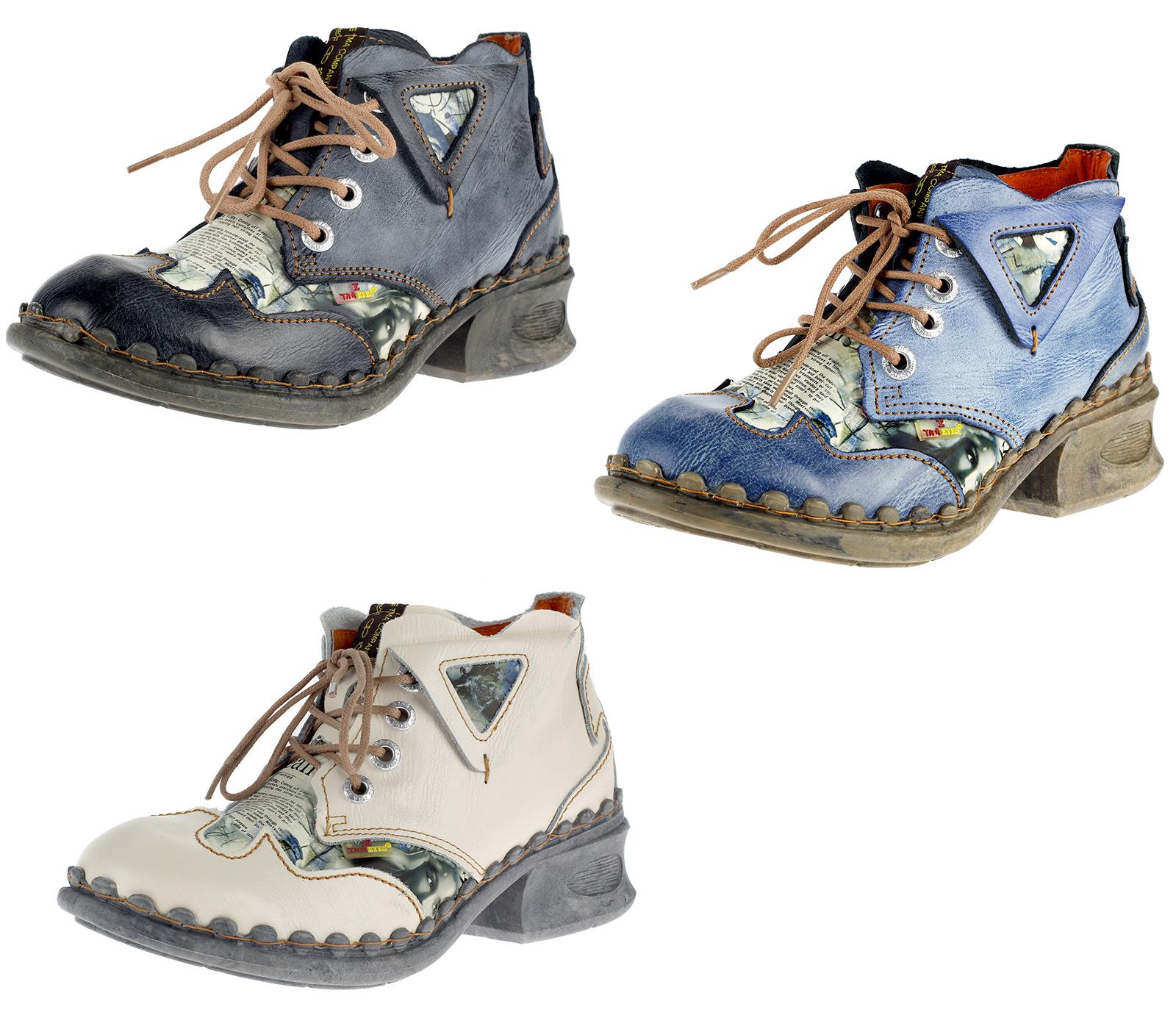 e3dbc3c9405bb4 Die eleganten TMA Stiefeletten wurden aus einer hochwertigen Lederkombi ( Leder