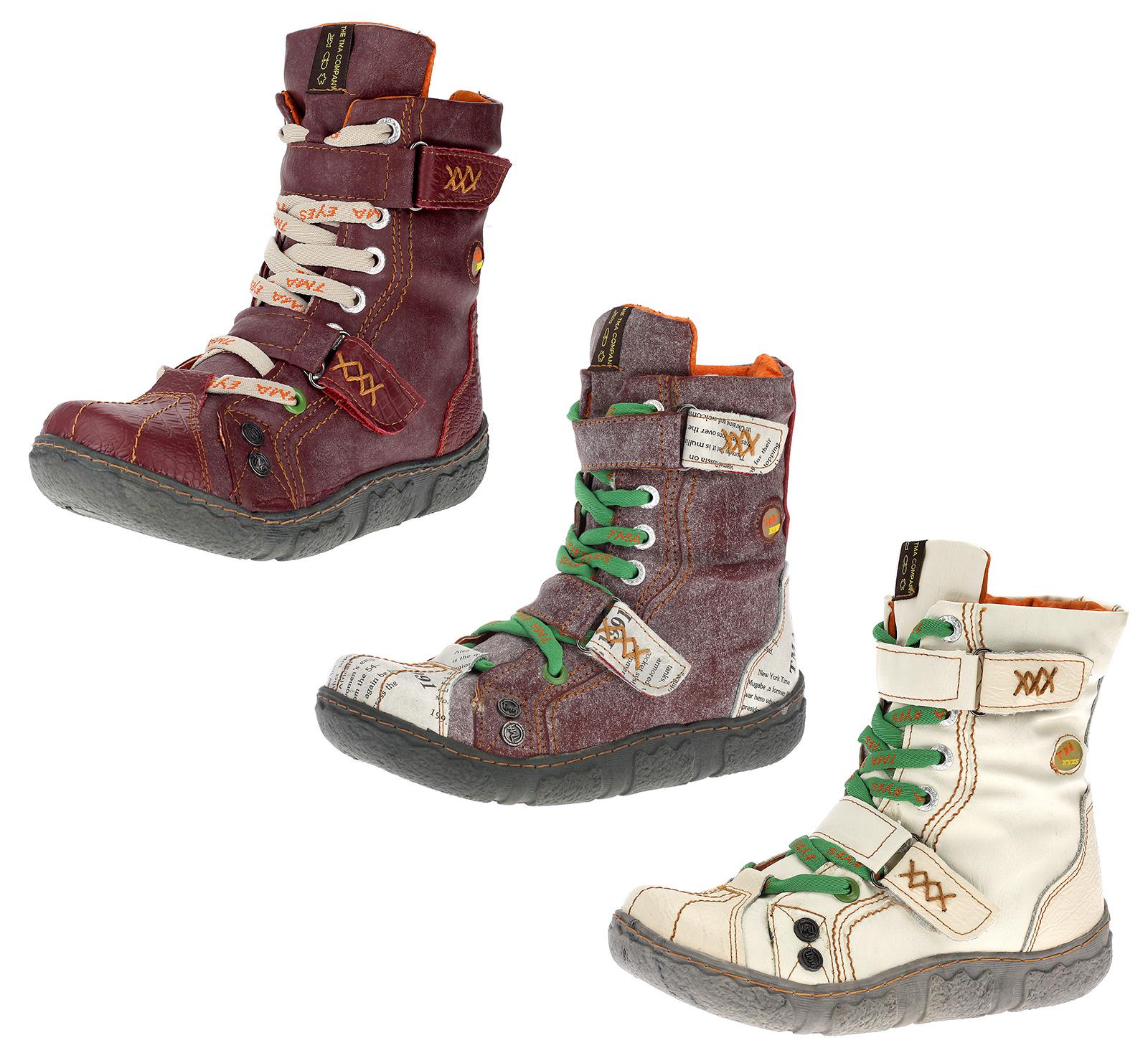 NEU Schuhe Stiefelette Echtleder Damen Boot gefüttert Winter 36 37 38 39 40 41