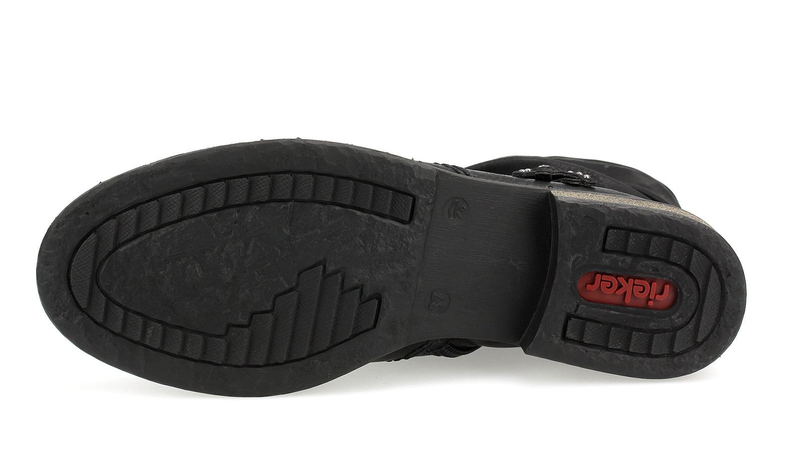 Détails sur Rieker Femmes Bottines Bottes Arbre Court Bottes Booty Chaussures Noir Z4953 00
